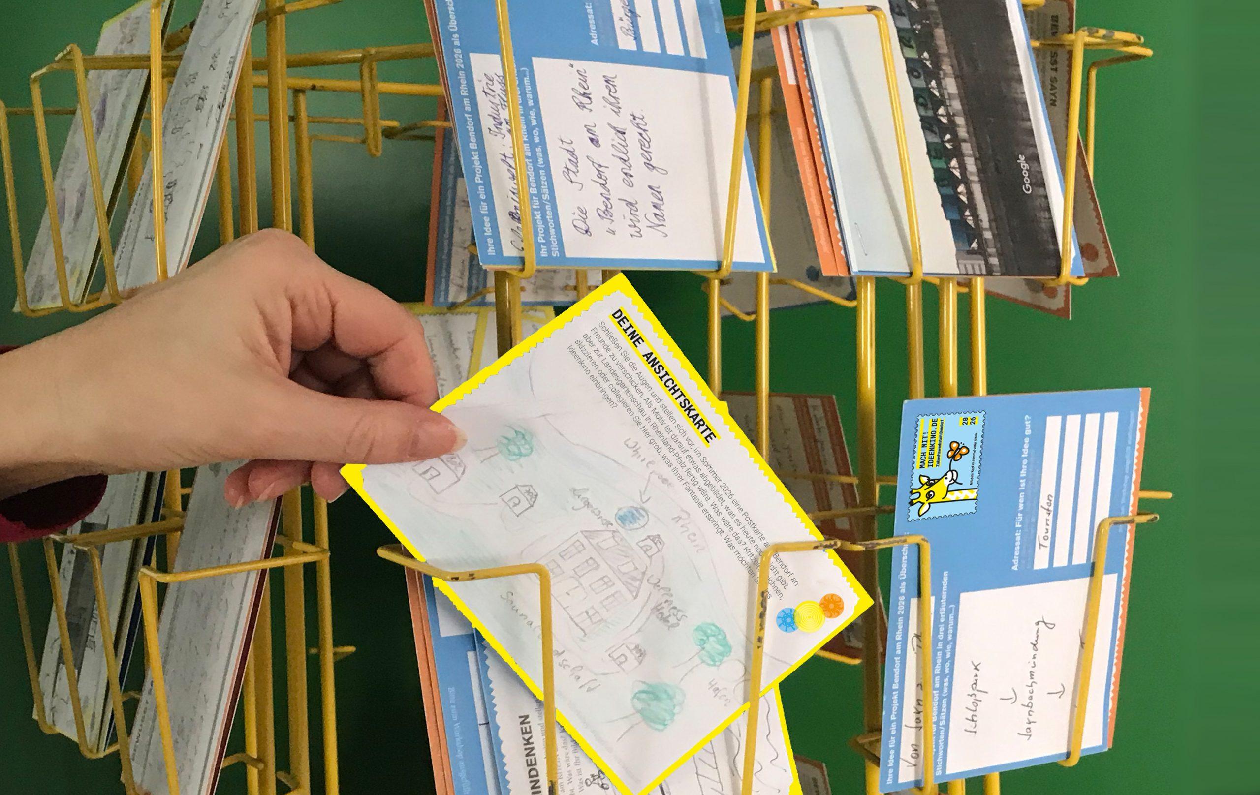 Deine Postkarte